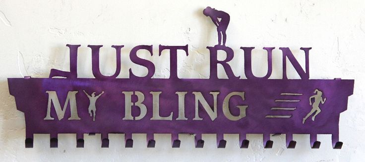 Running Medals Display  Hanger: Personalized: Running Medal Holder: Running Medals  Hanger