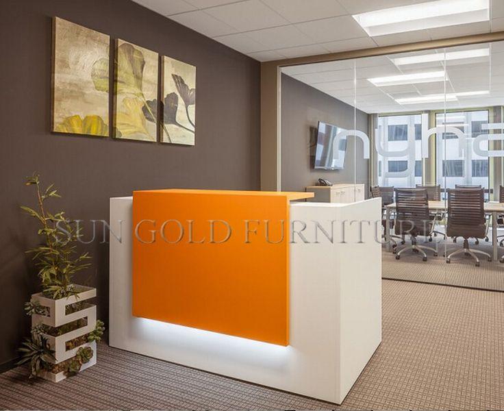 25 best ideas about salon reception desk on pinterest for Salon orange