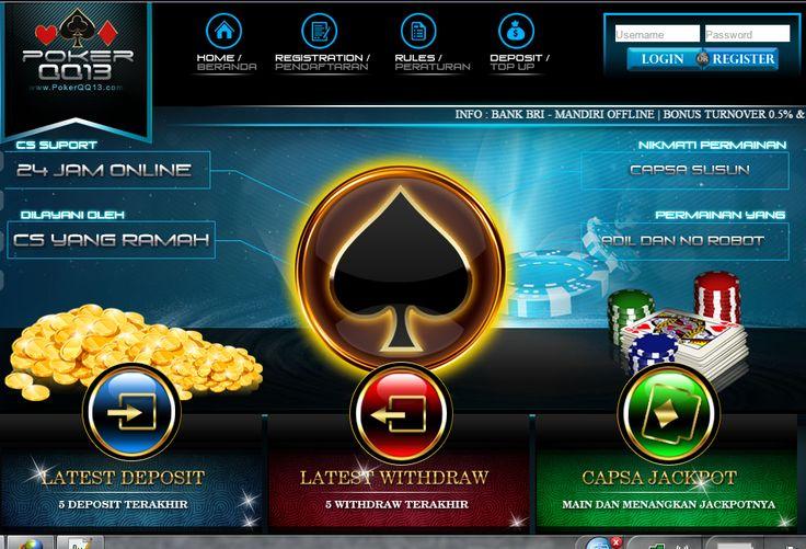 PokerQQ13 - Poker Online, Domino Online, Terpercaya