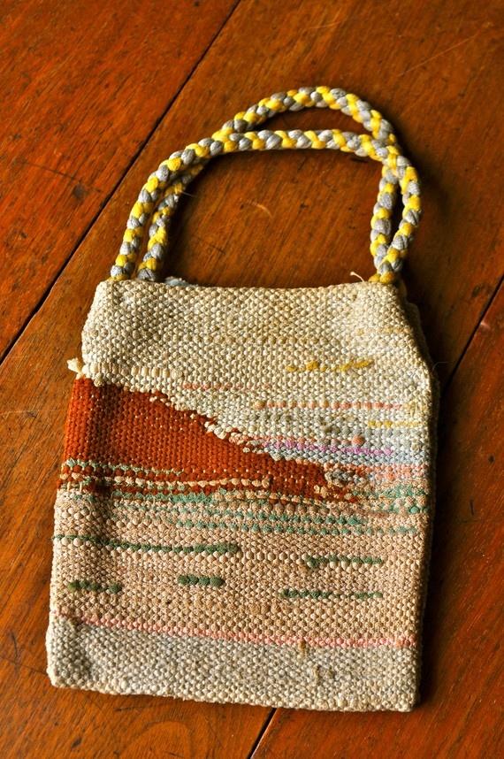 hand woven bag