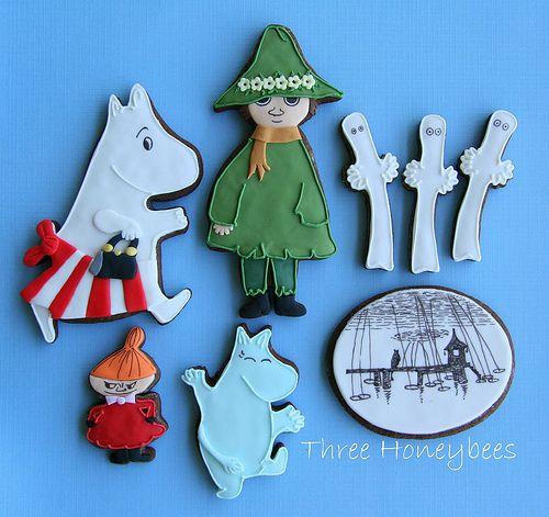 Moomin Cookies | Flickr - Photo Sharing!