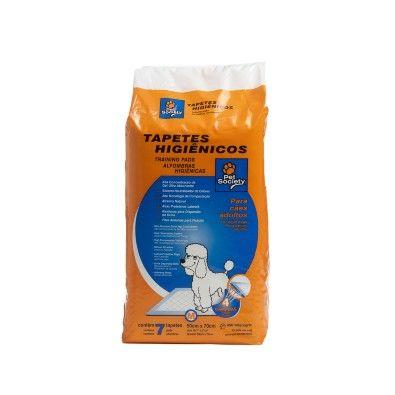 Tapete Higiênico Para Cães Adultos Pet Society 50x70cm - 7 Unidades. #tapetehigienico #cachorro #petsociety #promocao #desconto #petmeupet #xixi