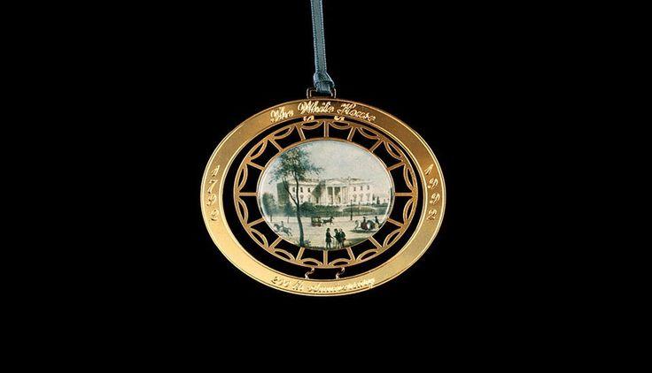 White House Christmas Ornament: 1992