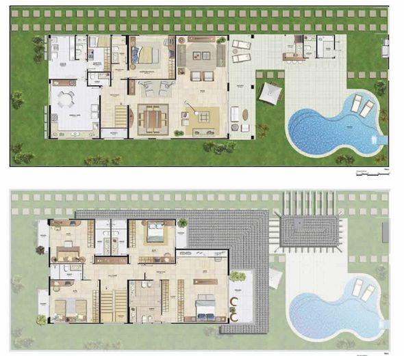 25 melhores ideias sobre casas de 2 andares no pinterest for Casa moderna 2 andares 3 quartos