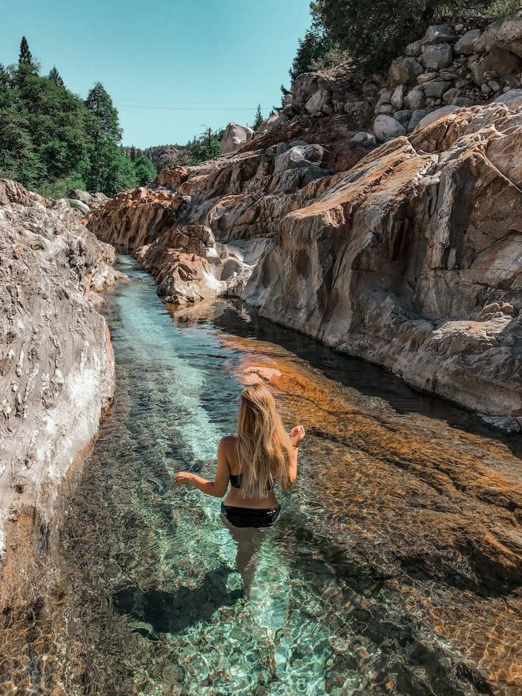 This Easy Trail In California Leads You To The Most Amazing Emerald Pools In 2020 California Travel Outdoors Adventure Nevada City California
