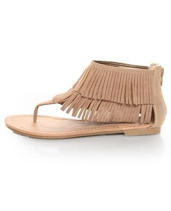 City Classified Cesar Camel Fringe Cuffed Thong Sandals: Cuffed Thong, Fringe Cuffed, Camel Fringe, Fringed Sandals, Cesar Camel, Fringes, Black Thong Sandals