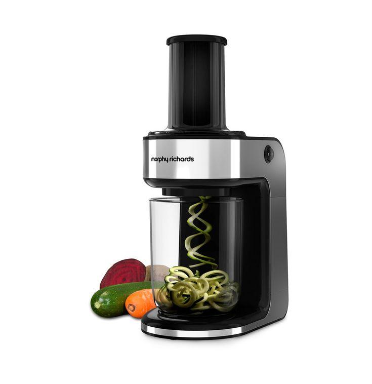 Spiralizer Express By Morphy Richards. Food Slicer | Food Processors, Blenders & Choppers