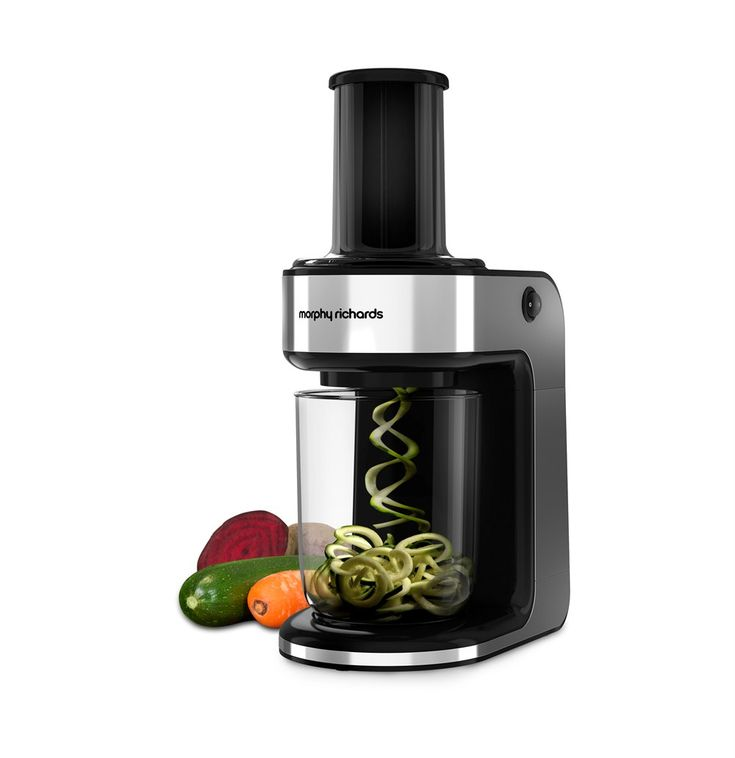 Spiralizer Express By Morphy Richards. Food Slicer | Food Processors, Blenders & Choppers