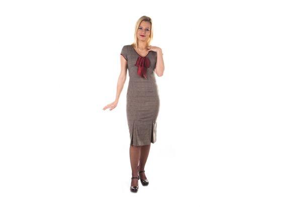 Miss Moneypenny - sukienka retro, tym razem z kokardką