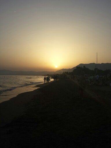 Atardecer en #Marbella #Soyembajador #Relax #Viajar #Vacaciones