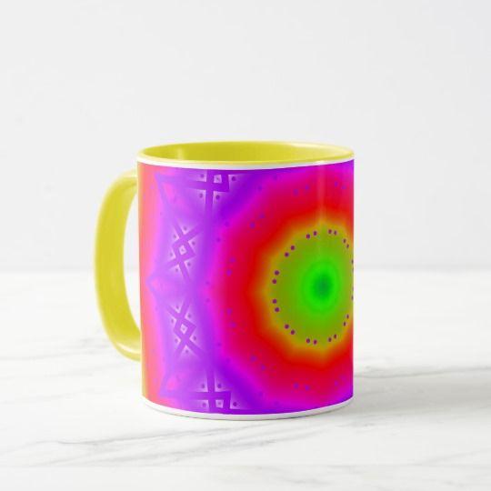Happy Colors Combo Mug