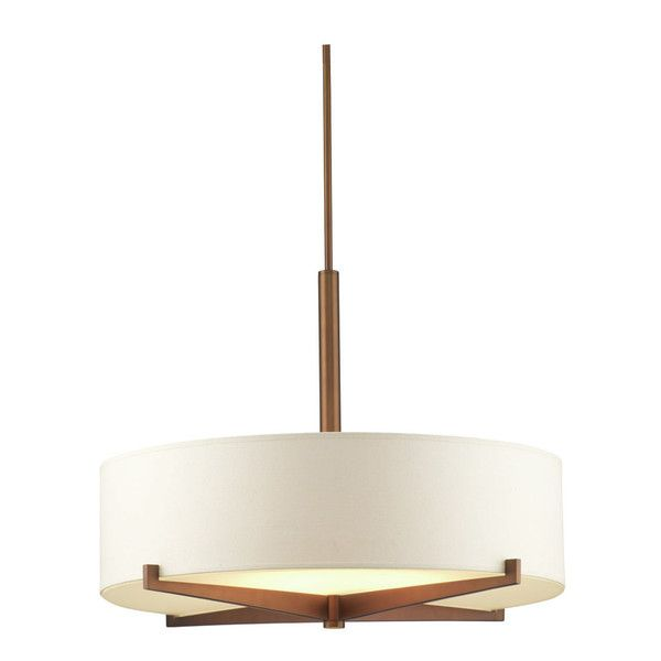 fisher island 3 light drum pendant by philips consumer luminaire