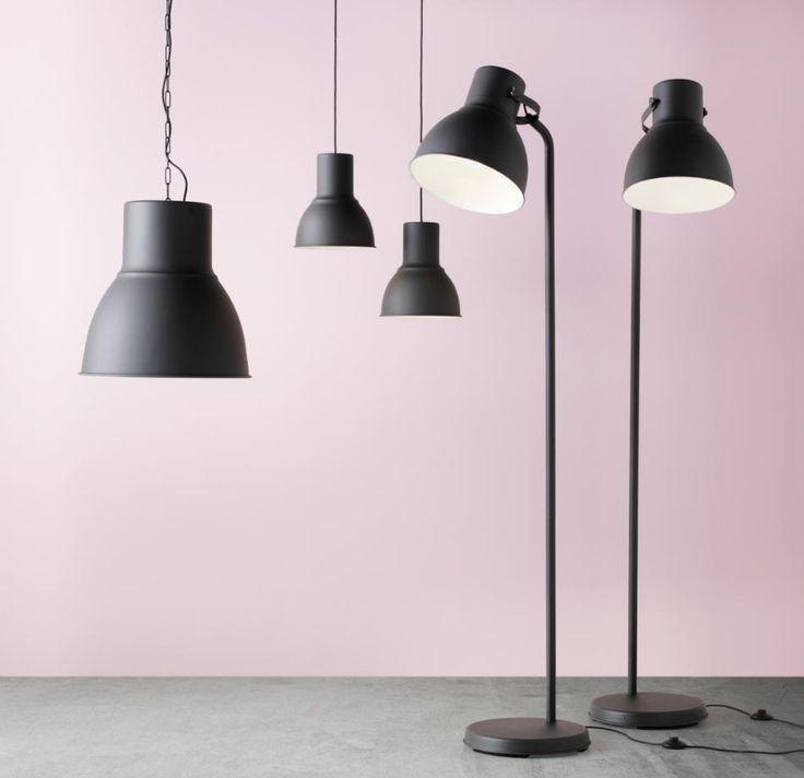 HEKTAR serie | #IKEA #IKEAnl #verlichting #lamp #industrieel #LED #hanglamp