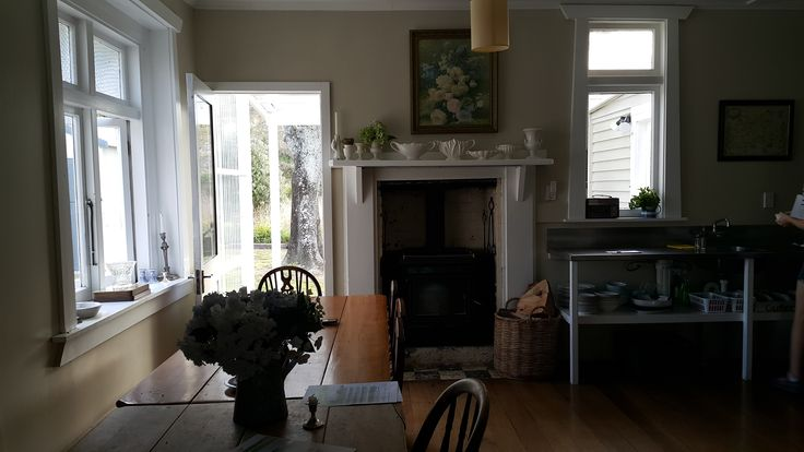 Interior of old cottage Tora Tora walk, Wairarapa