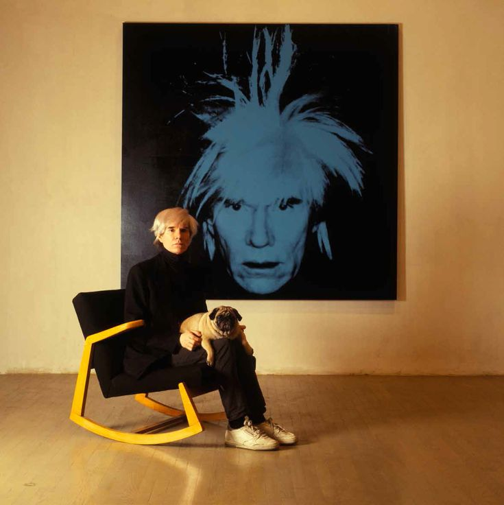 "losetheboyfriend: ""Andy Warhol; captured by William Coupon (1986) """