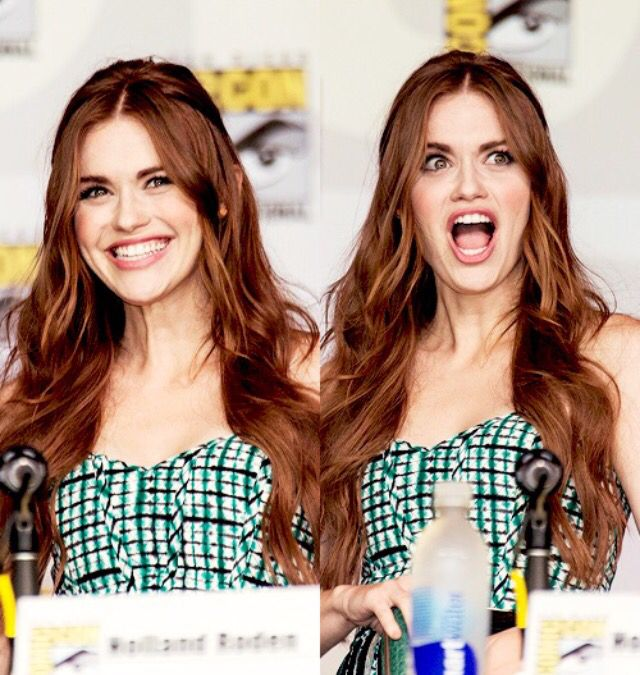 Holland Roden at Comic Con
