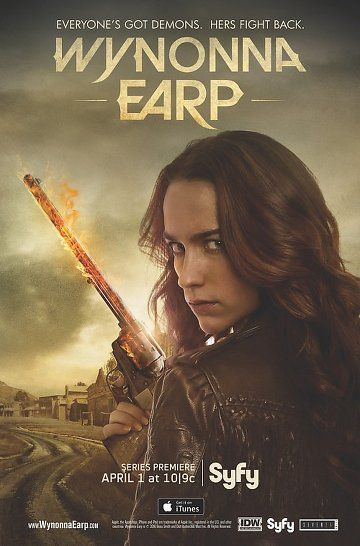 Wynonna Earp on Syfy. Love This Show. Probably my favorite show airing right now! :-) WATCH WYNONNA EARP!!!