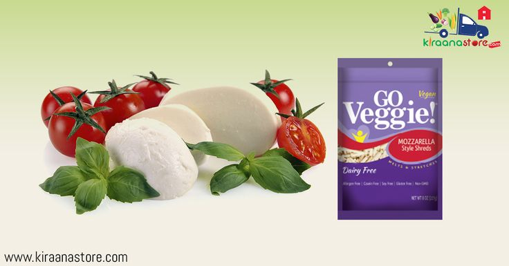 Go Veggie Cheese Online our #GroceryShopping in Noida on Kiraanastore.com. Get #GOVeggie grated topping takes pizza, pasta, soups with Free Shipping and Cash on Delivery Available.
