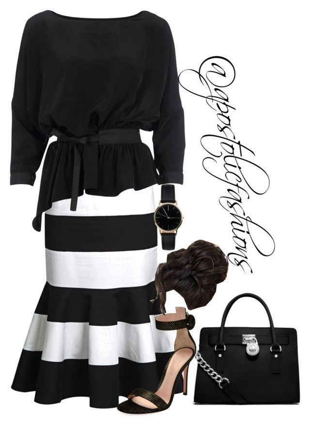 """""""Apostolic Fashions #1761"""" by apostolicfashions on Polyvore featuring Dolce&Gabbana, Vero Moda, Gianvito Rossi, Freedom To Exist and MICHAEL Michael Kors"""