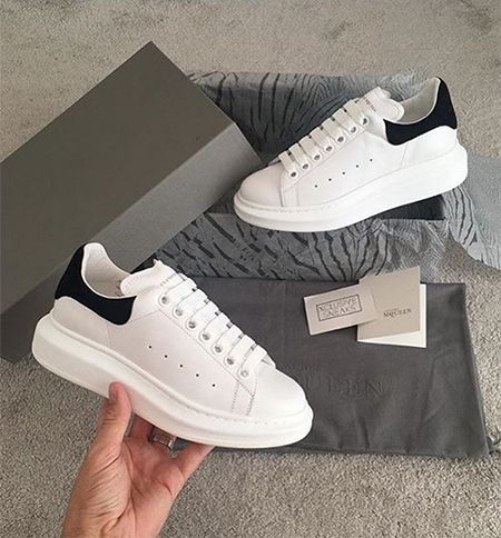 Chloe Lewis on Instagram Nov 4, 2016, showing a pair of Alexander McQueen sneakers https://api.shopstyle.com/action/apiVisitRetailer?id=614693520&pid=uid7729-3100527-84. #style #celebstyle #alexandermcqueen #theonlywayisessex #instagram