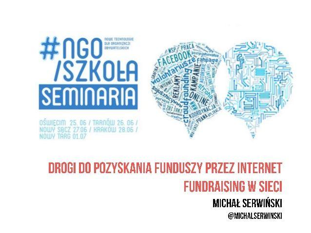 Drogi do pozyskania funduszy przez internet - fundraising w sieci