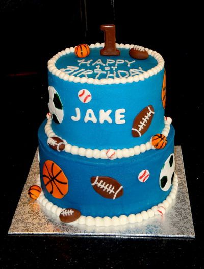 116 best Cakessports themed images on Pinterest Sports themed