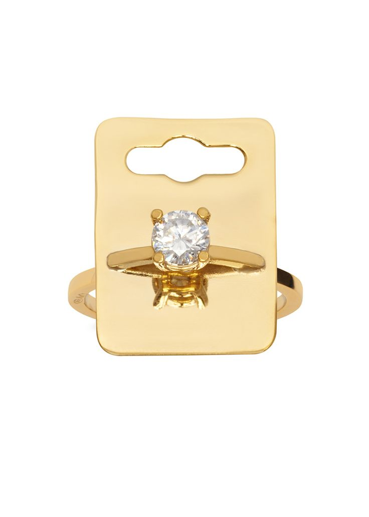 'The Bling Ring' Tag Ring