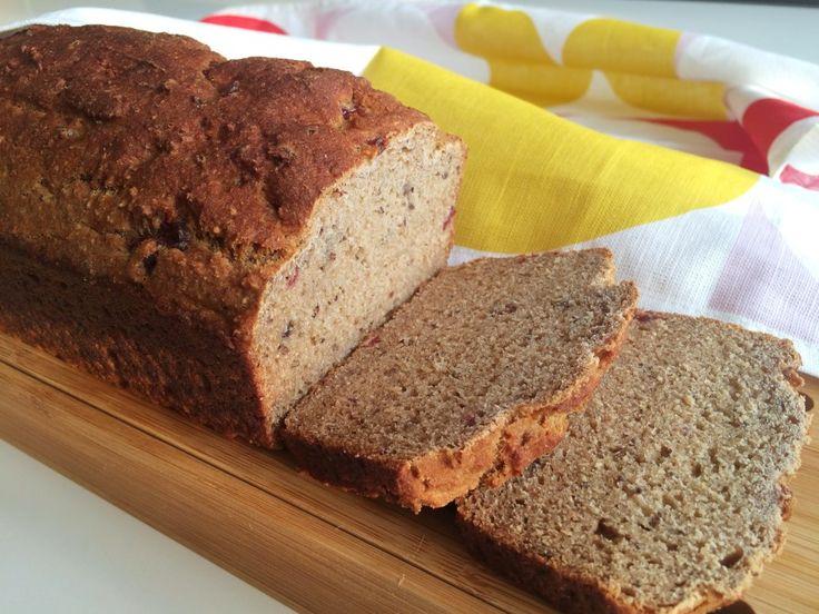 Glutenfritt snabbt bovete- och teffbröd