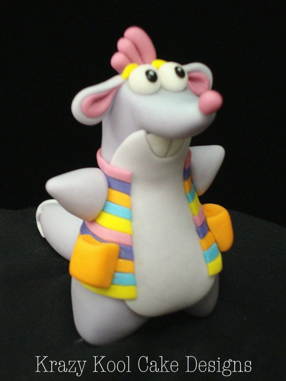 Tico From Dora The Explorer Cake Topper by KrazyKoolCakeDesigns