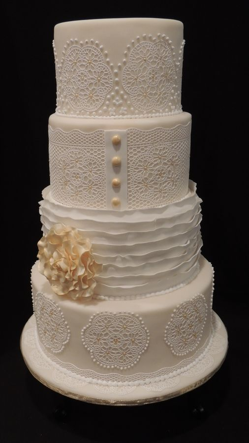 white wedding cakes images 97 best images about sugarveil on lace lace 27386