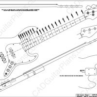 PDF Jazz Bass Electric Guitar Plan Fender Style in 2020
