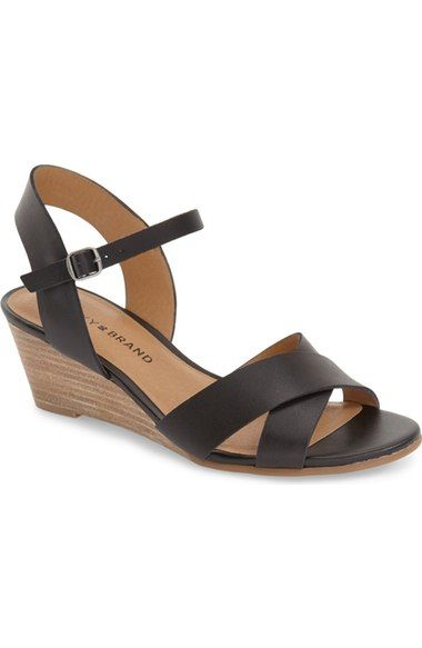 Lucky Brand 'Jaidan' Wedge Sandal (Women) available at