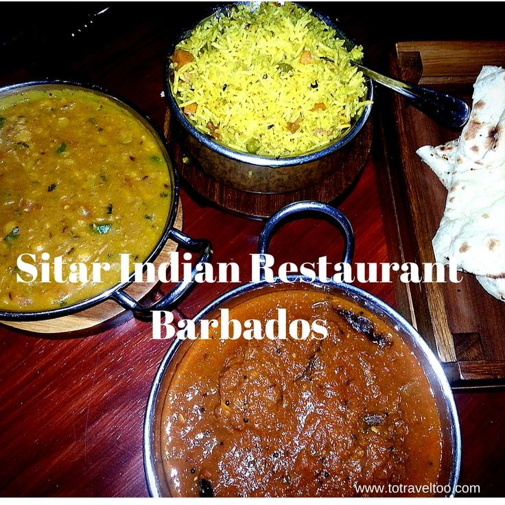 We highly recommend a visit to Sitar Indian Restaurant in Barbados. If you want authentic Indian cuisine in the Caribbean this is where to go.