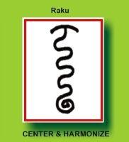 Raku   Tibetan reiki symbol for harmony