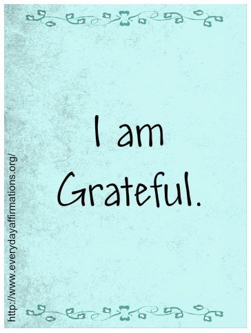 Grateful for so many things-----my family, my friends, my precious pets, all the good things in my life.