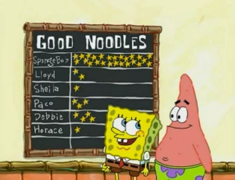 Be a good noodle!