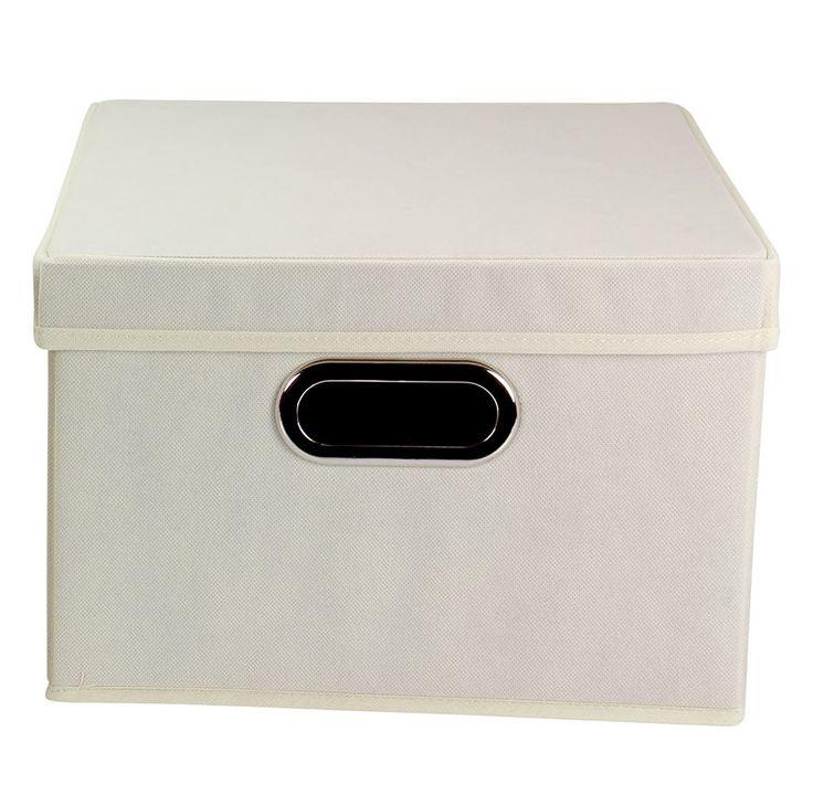 Household Essentials Alexis Storage Bin with Lid & Reviews | Wayfair