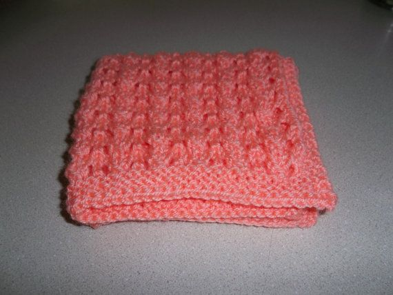 Peachy Peach Blythe Betsy Mccall Knit Doll Blanket Afghan