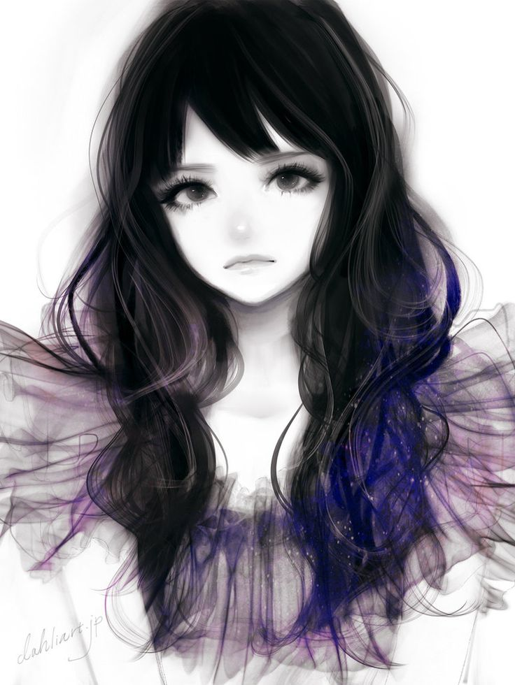 anime hair woman: 21 Best Semi-realism Images On Pinterest