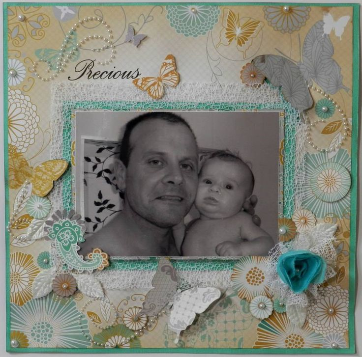 ~*~*~ Precious ~*~*~ This page was created by PH designer, Alicia O'Connell using the 'Elegance' paper range by Kaisercraft.