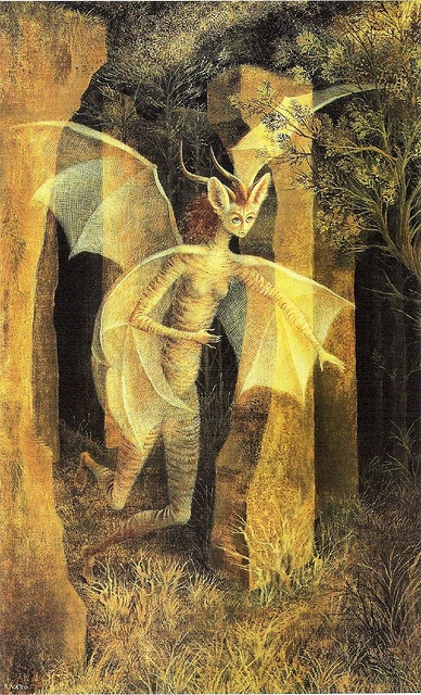 'Personaje / Character' by Remedios Varo.