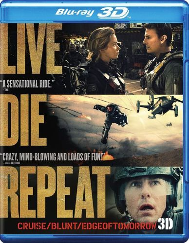 Live Die Repeat: Edge of Tomorrow [3D] [Blu-ray] [Blu-ray/Blu-ray 3D] [2014]