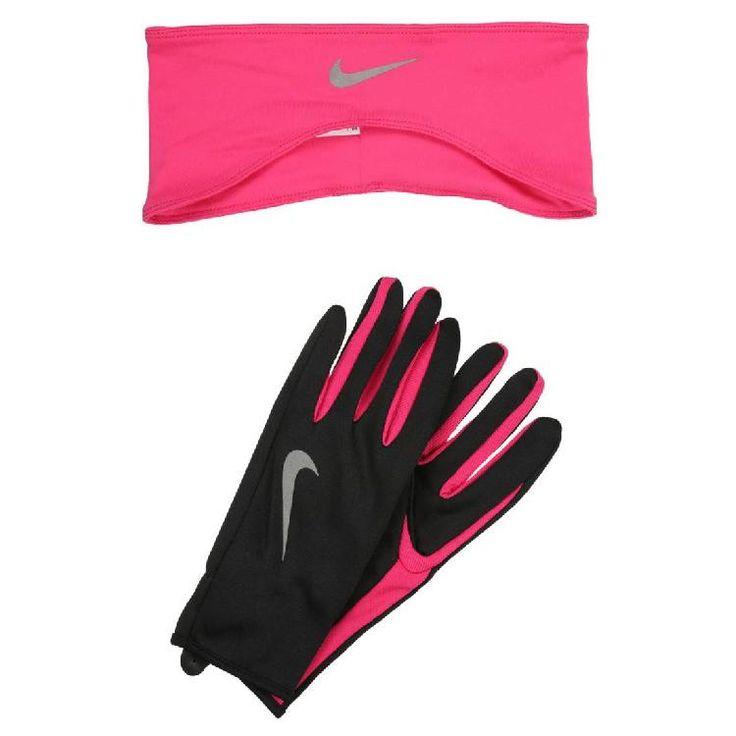 Fingerhandschuh - black/vivid pink by Nike Performance