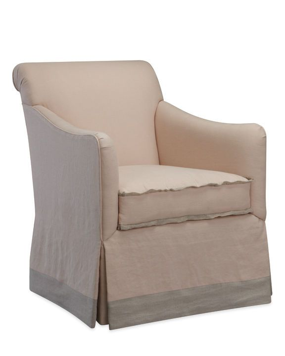 Lee Industries Slipcovered Chairs Are Super Practical. Imagine Spilling A  Glass Of Juice And Being