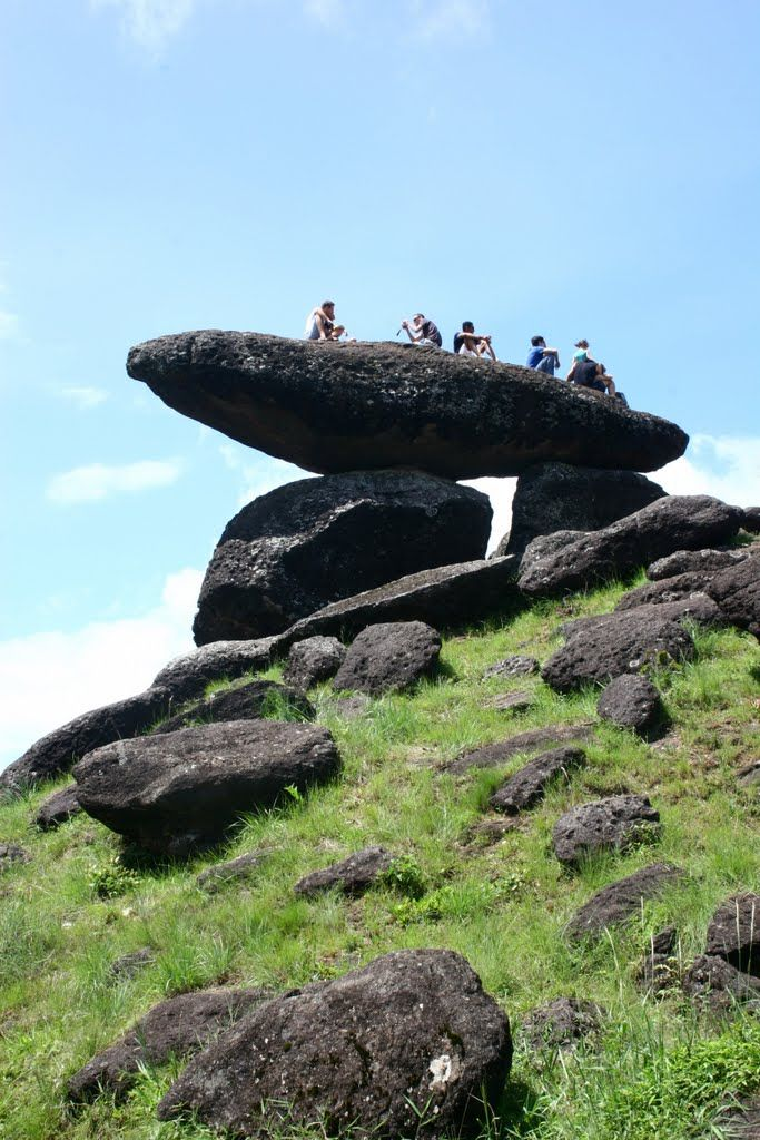 Pedra Balão em Poços de Caldas, Minas Gerais, Brasil.