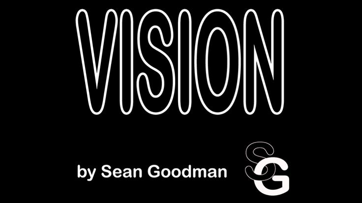 Vision (Standard Business Card Size) by Sean Goodman - Trick