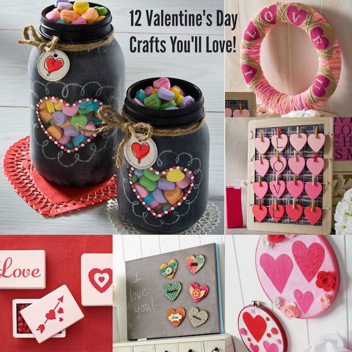 Get personal on Valentine's Day by giving your loved ones homemade gifts! Choose a DIY craft project and get started. Consider making decorative mason jars with black chalkboard paint, then fill the jars with candy hearts. Paint some wood boxes with pink paint, then decorate the tops with a heart-shaped stencil. Cover a wreath with burlap and use stencils to create festive designs. Read on for several more fun craft projects for Valentine's Day on eBay!