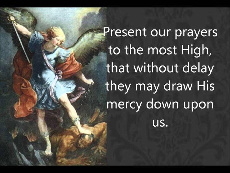 Prayers To Saint Michael The Archangel Exorcism
