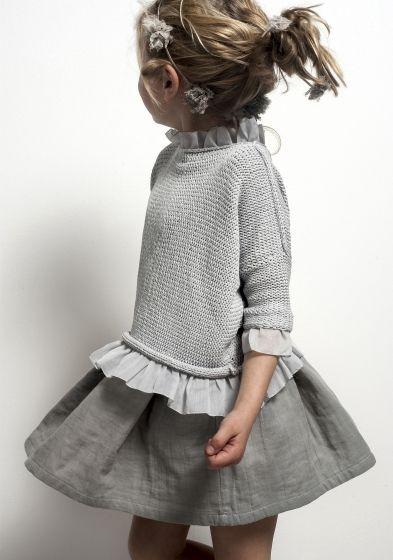 Grey #girls #fashion