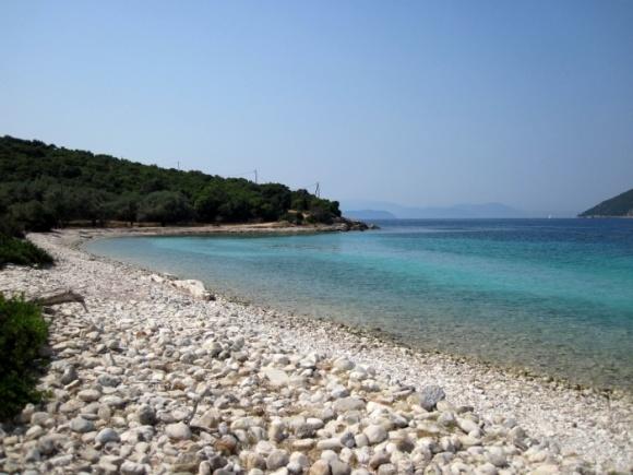 Agios Ioannis beach, Meganissi